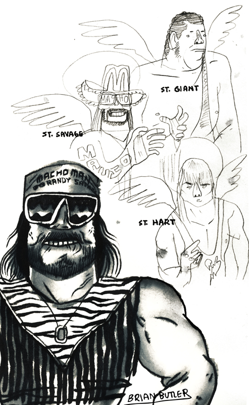 saint macho man randy savage art
